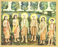 Six Goswamis of Vrindavan