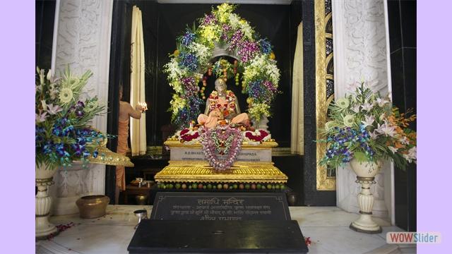 Srila Prabhupada's Samadhi
